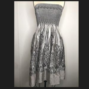 Staples elastic dress